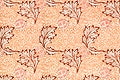 """Apple pattern (1877) by <a href=""""https://www.rawpixel.com/search/william%20morris?sort=curated&amp;page=1"""">William Morris</a>. Original from The Smithsonian Institution. Digitally enhanced by rawpixel."""