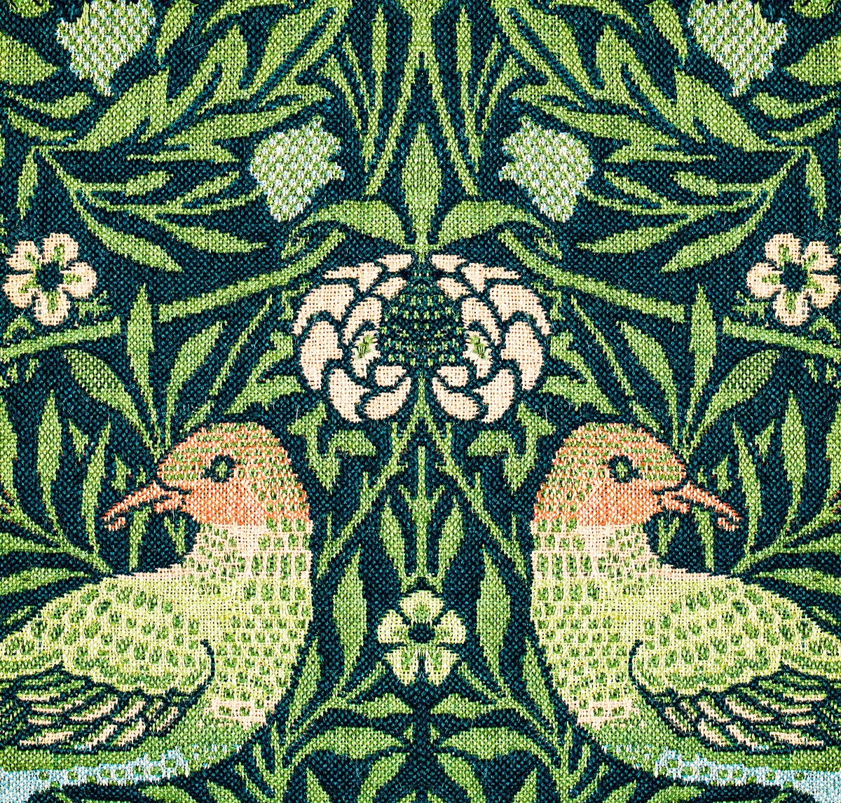 Fragment pattern (1876) by William Morris. Original from The Smithsonian Institution. Digitally enhanced by rawpixel.