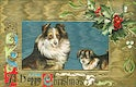 A Happy Christmas Card (1908) from The Miriam and Ira D. Wallach Division of Art, Prints and Photographs. Original from The New York Public Library. Digitally enhanced by rawpixel.