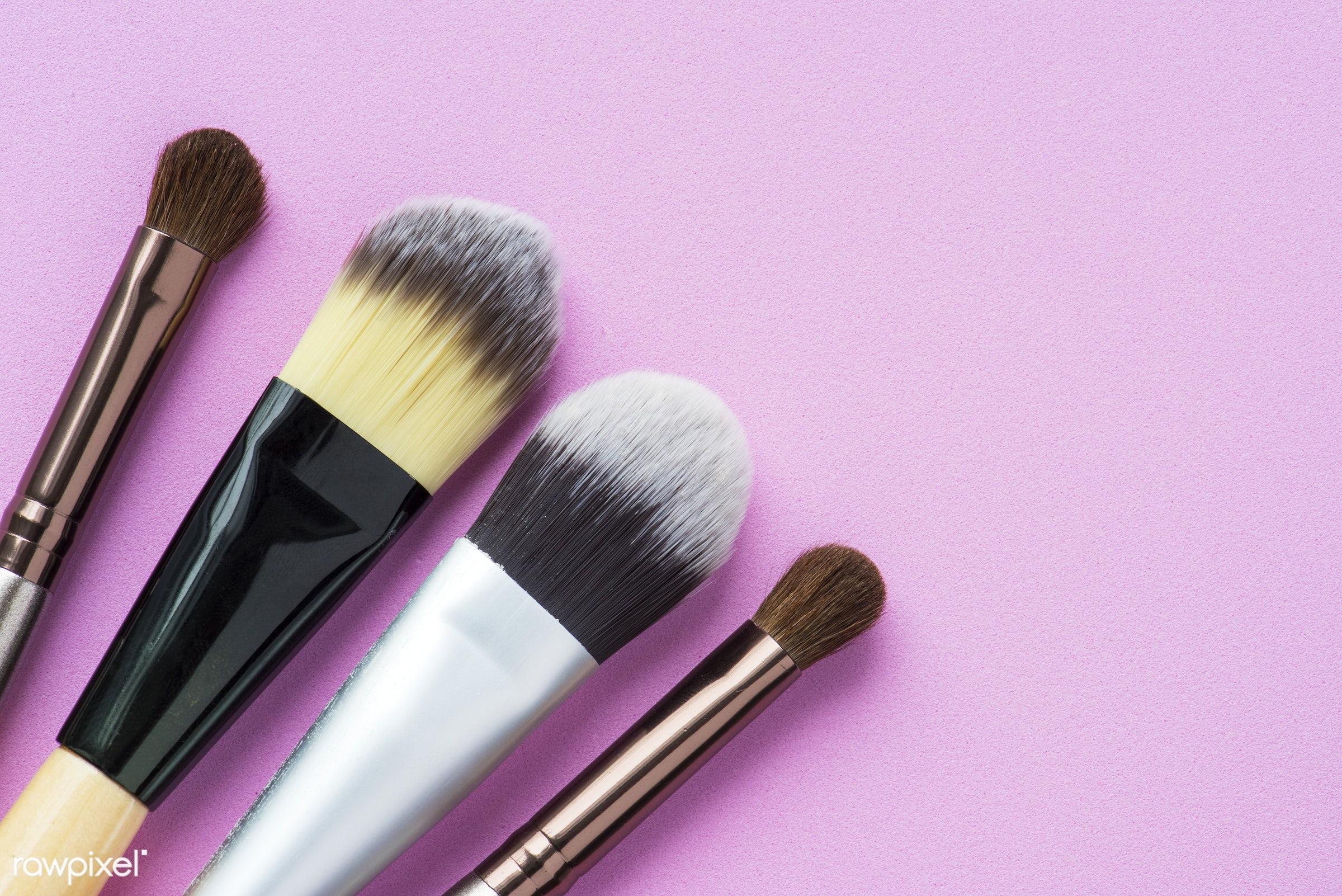 Closeup Of Cosmetic Blush