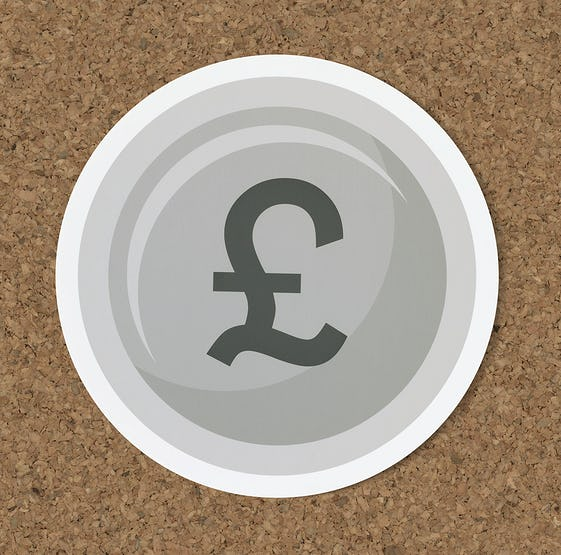 Pound Sterling Currency Exchange Icon Id 402018