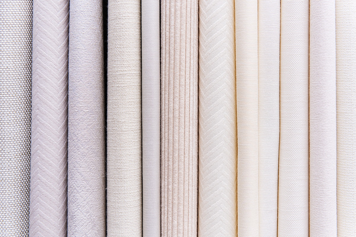 Fabric textured layers background