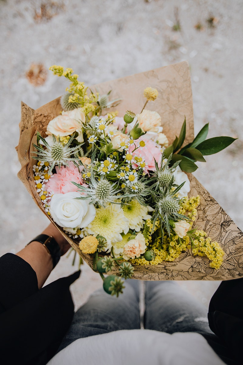 A beautiful bouquet of flowers