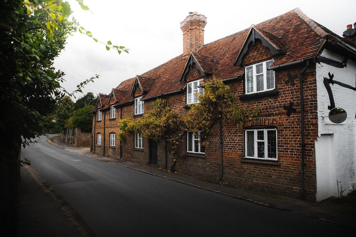Quaint house at Surrey, England