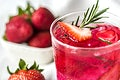 Strawberry rosemary infused water recipe