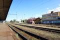 Český Krumlov train station in