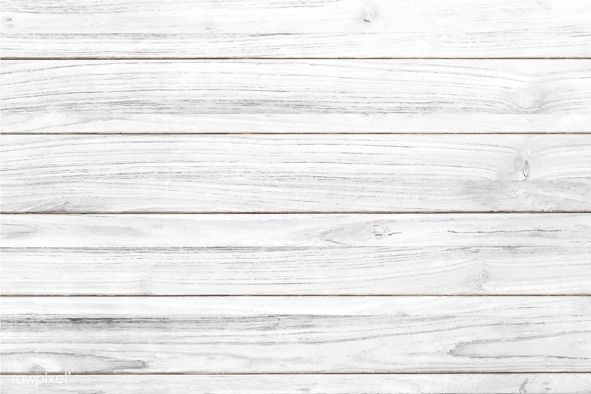 White Wooden Texture Flooring Background Free Stock