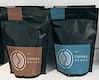 Coffee bean bag mockup design