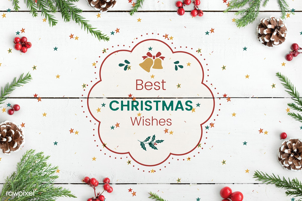 Christmas Wishes Card.Download Premium Image Of Best Christmas Wishes Card Mockup 520172