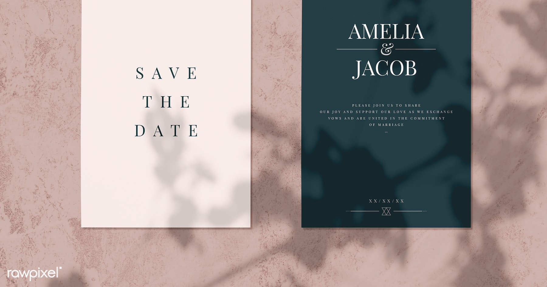 Royalty Free Free Wedding Invitation Card Psd Announcement