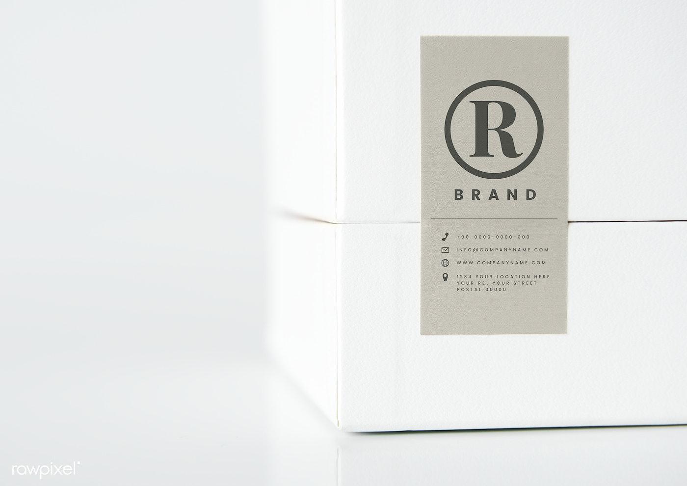Simple White Packaging Box Mockup Free Psd Mockup 531859