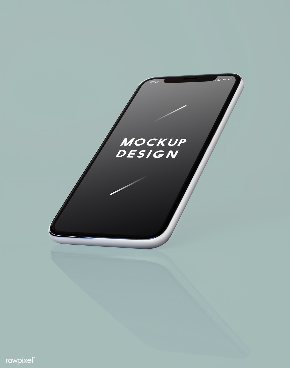 Download premium psd of Full screen smartphone mockup design 524144