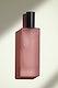 Pink blank perfume glass bottle mockup design