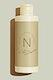 Organic beige beauty care bottle mockup