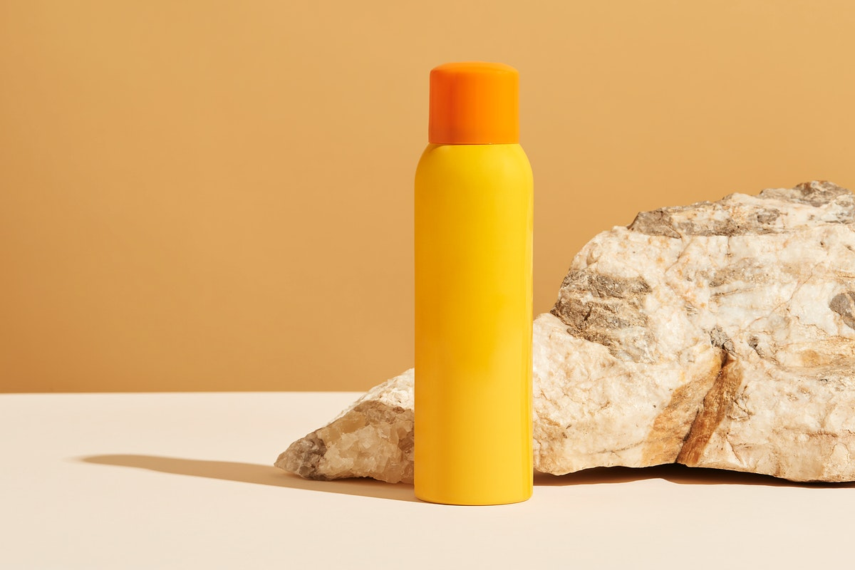 Sunscreen product packaging design resource