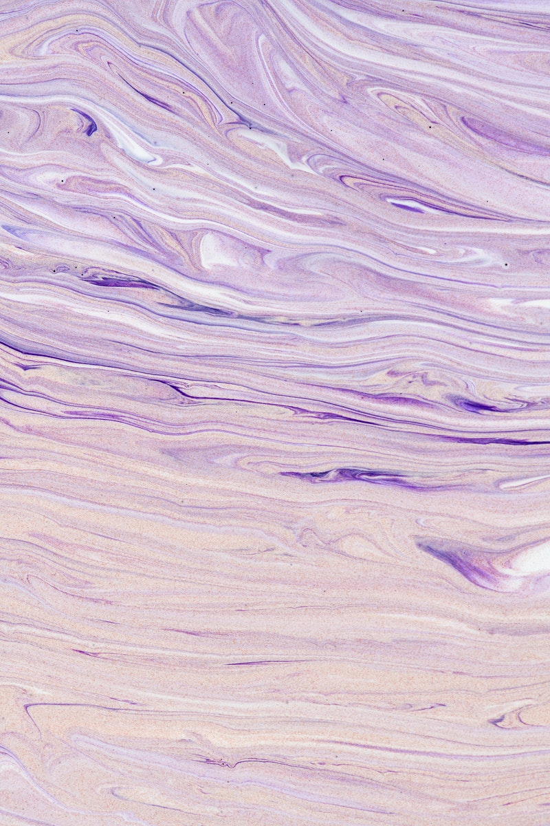 Purple liquid marble background abstract flowing texture experimental art