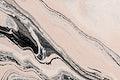 Abstract liquid marble beige background handmade experimental art