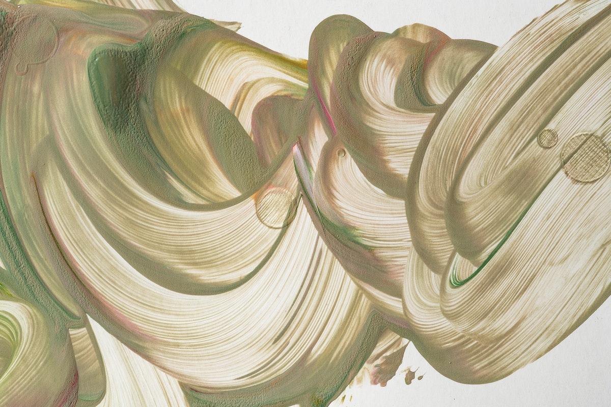 Beige fluid art background DIY acrylic paint