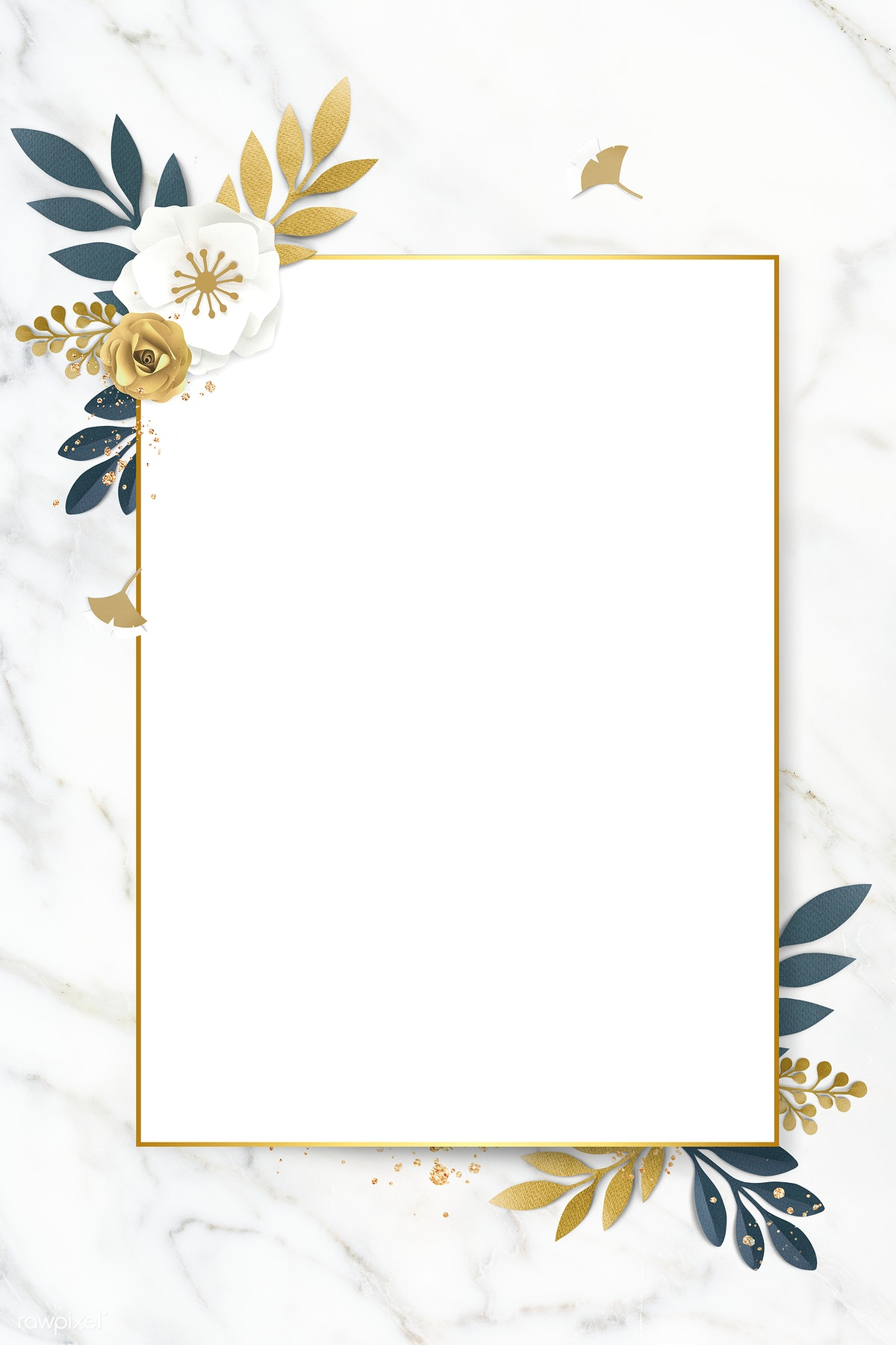 Frame Template Aesthetic Yellow