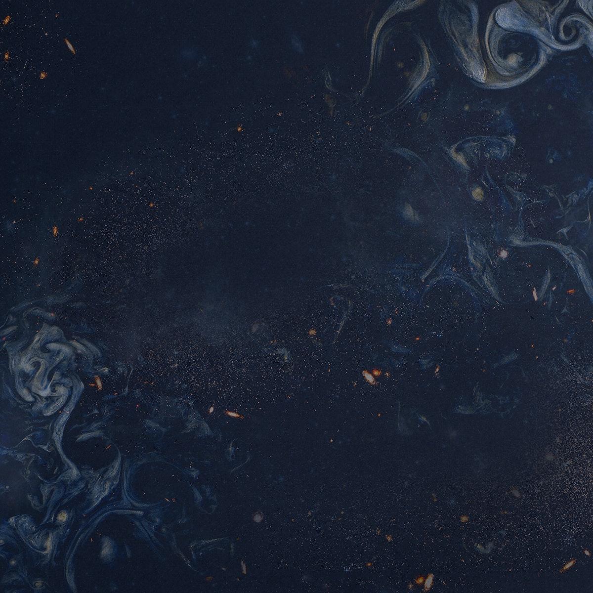 Indigo blue paint textured background