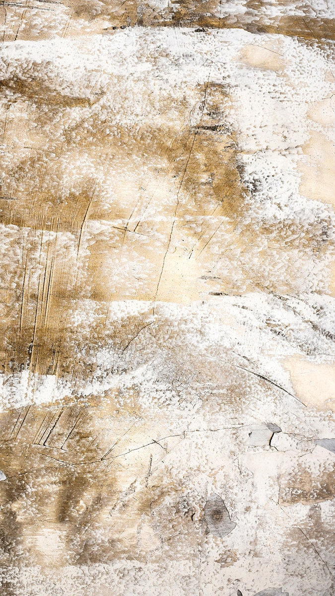 Cracked rustic brown concrete mobile phone wallpaper