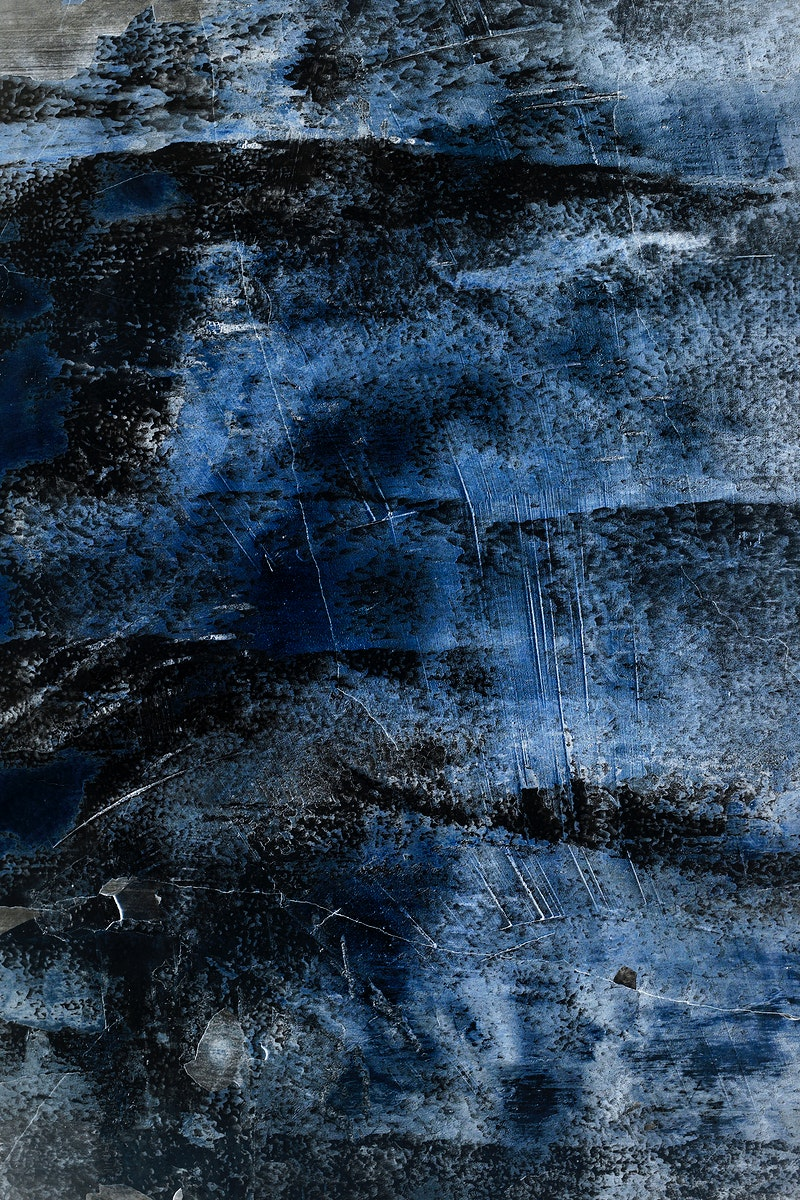 Cracked rustic blue concrete mobile phone wallpaper