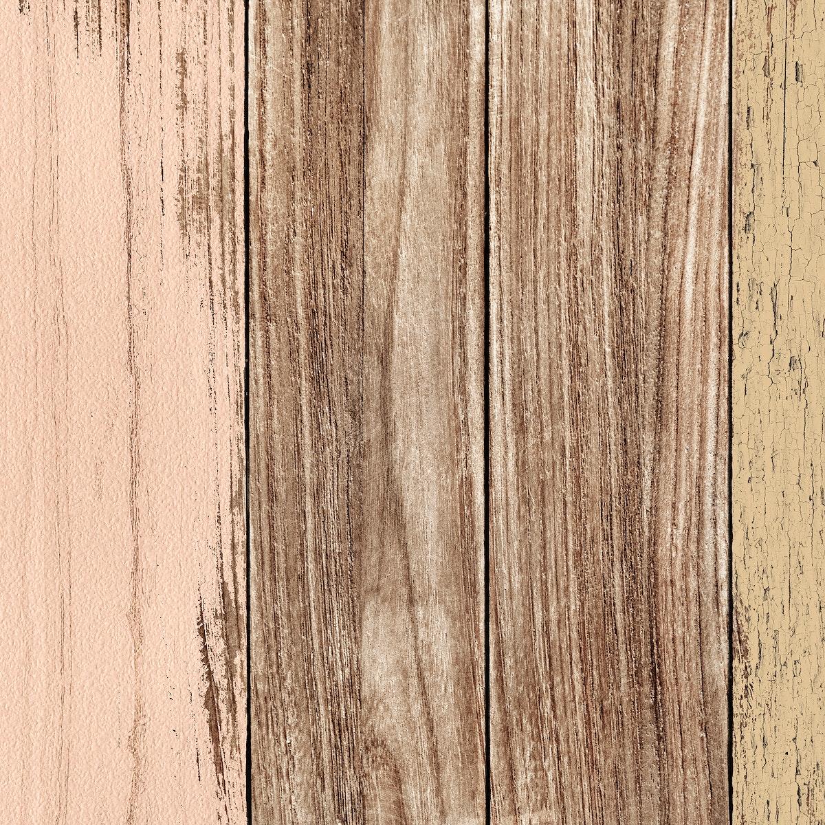 Scratched beige wood textured background