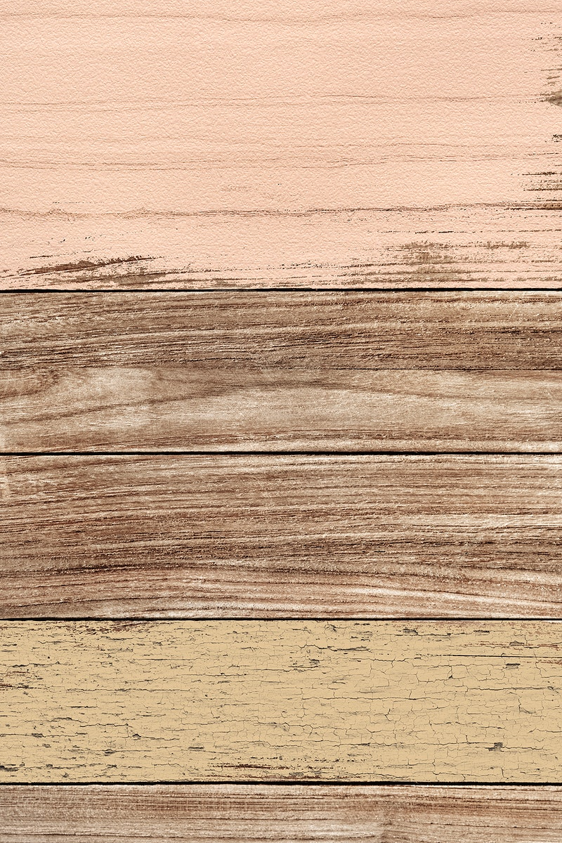 Scratched beige wood textured mobile phone wallpaper