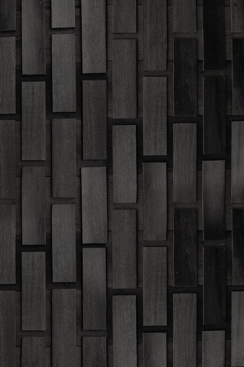 Gray concrete brick wall pattern mobile phone wallpaper
