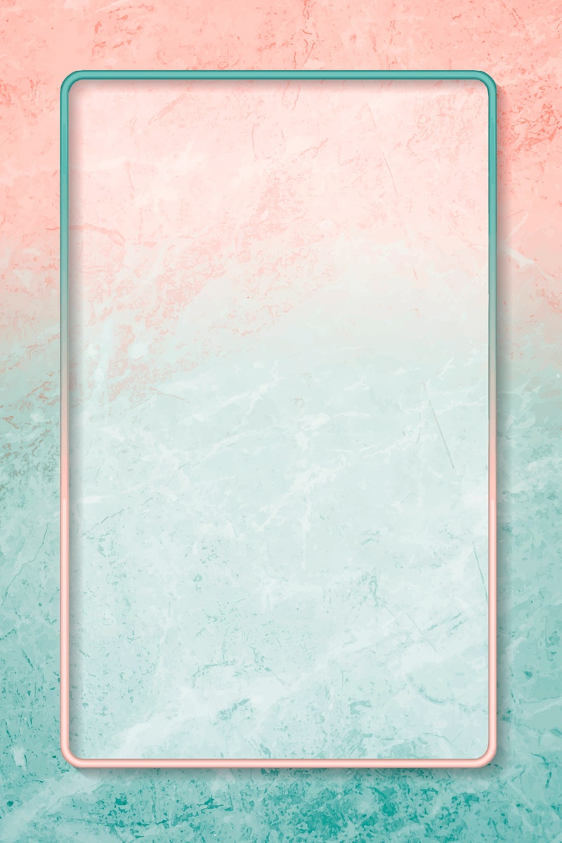 Rectangle frame on abstract background vector