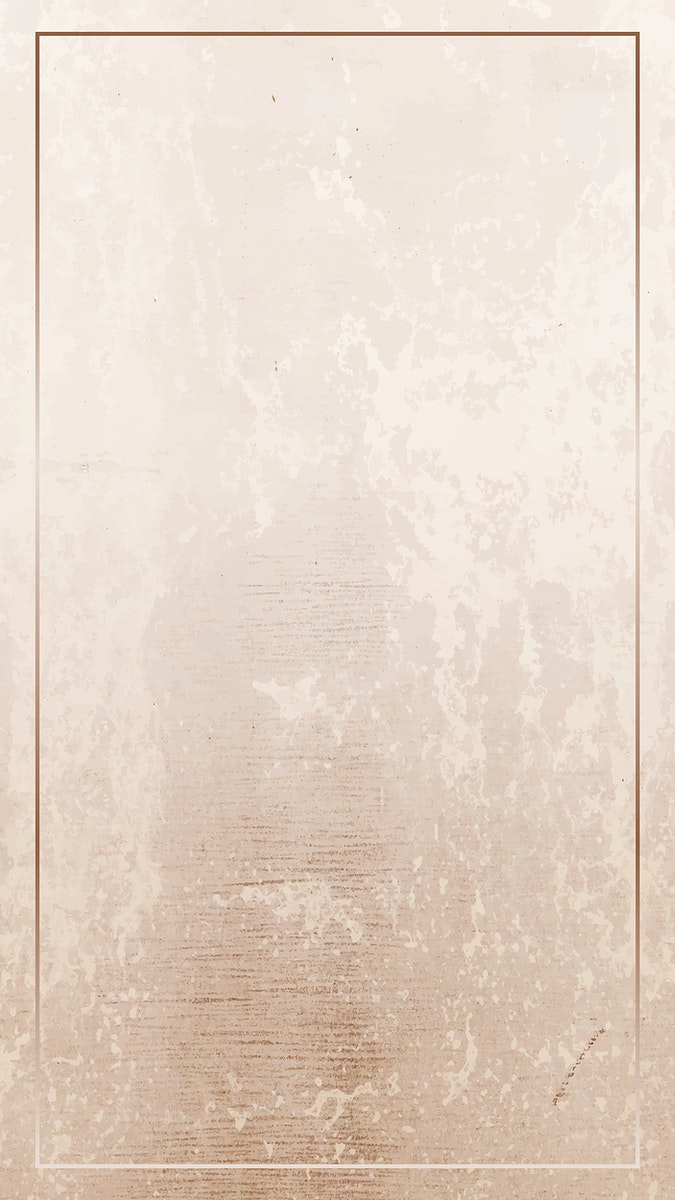 Rectangle gold frame on a grunge brown background vector