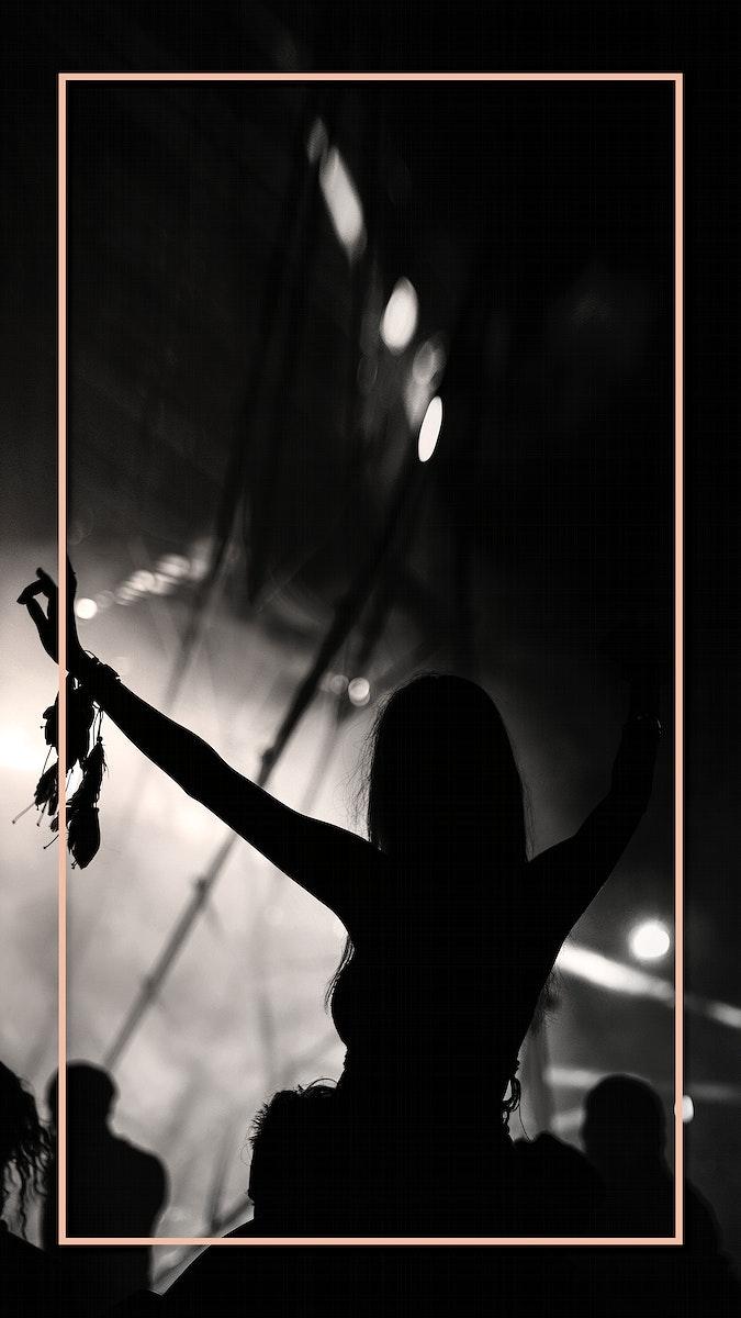 Live concert mobile phone wallpaper