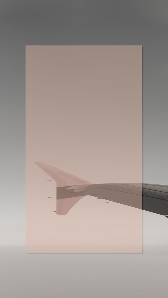 Airplane tail mobile phone wallpaper