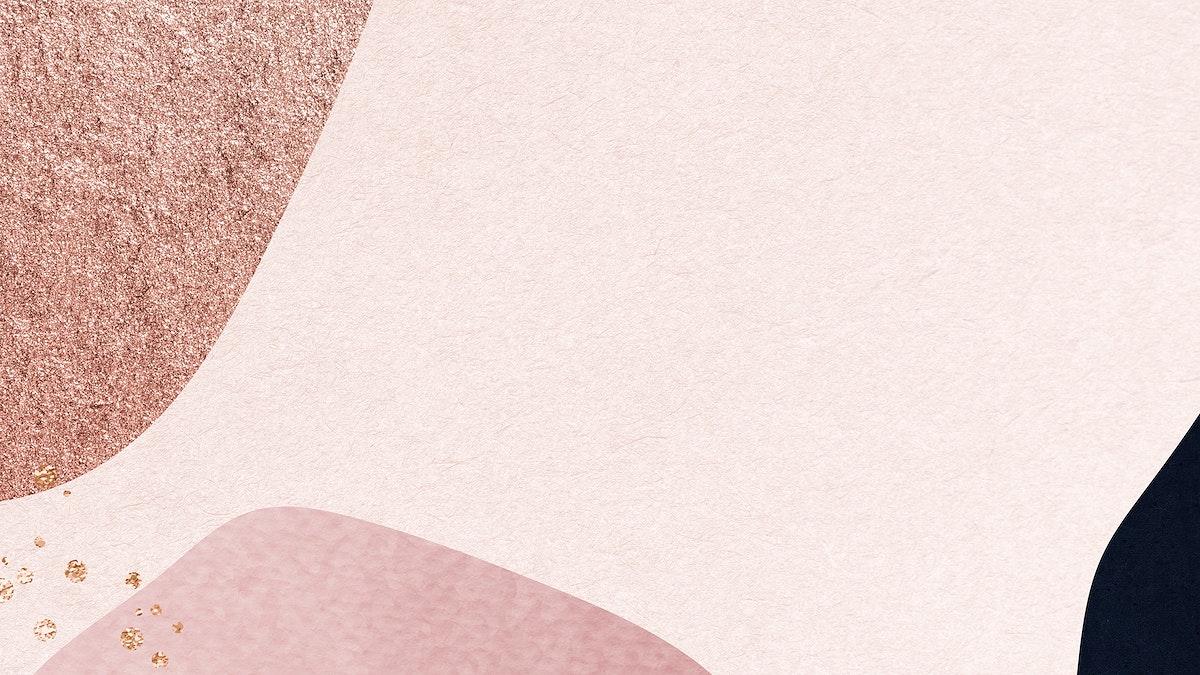 Pink collage patterned background illustration