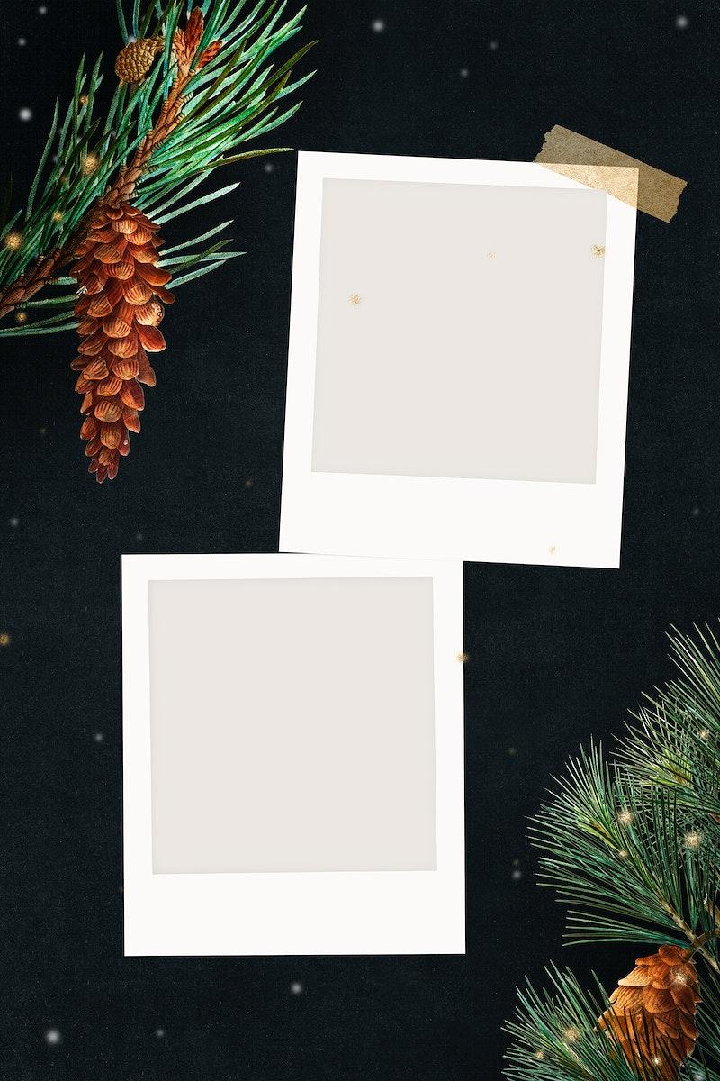 Festive blank Christmas films design