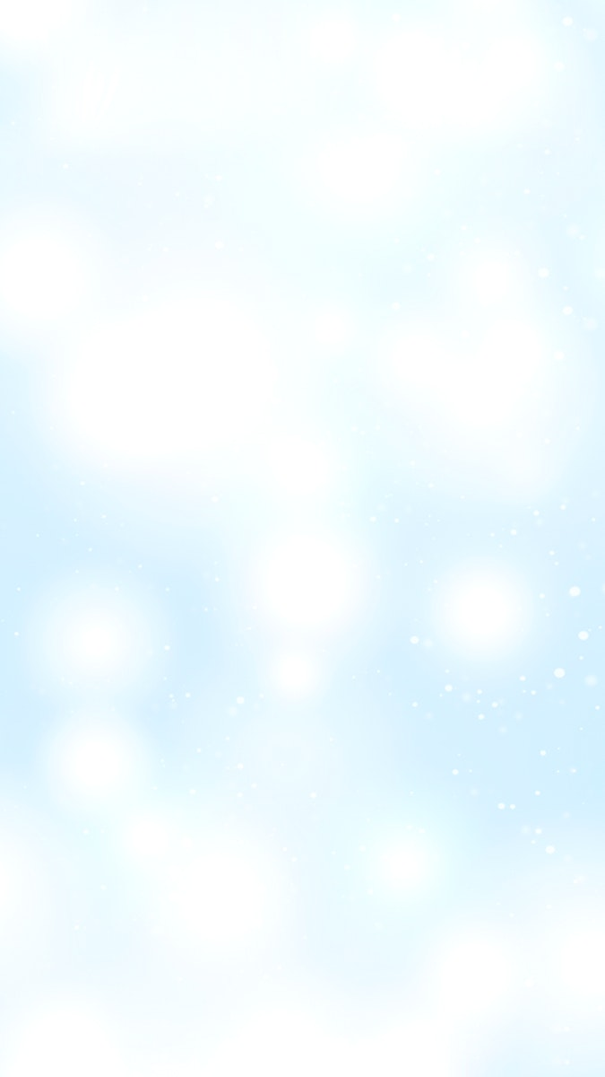 Snowflakes patterned mobile phone wallpaper