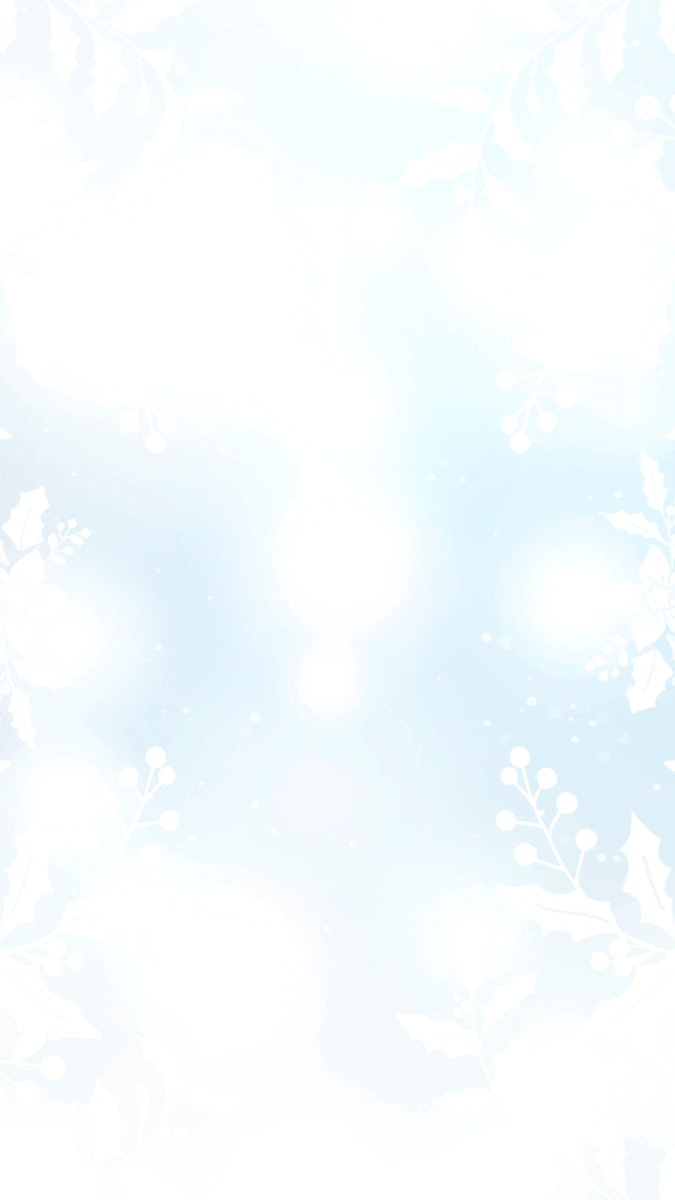 Snowflakes patterned mobile phone wallpaper vector