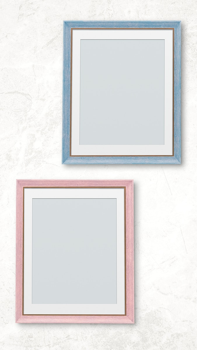 Photo frame mockup collection