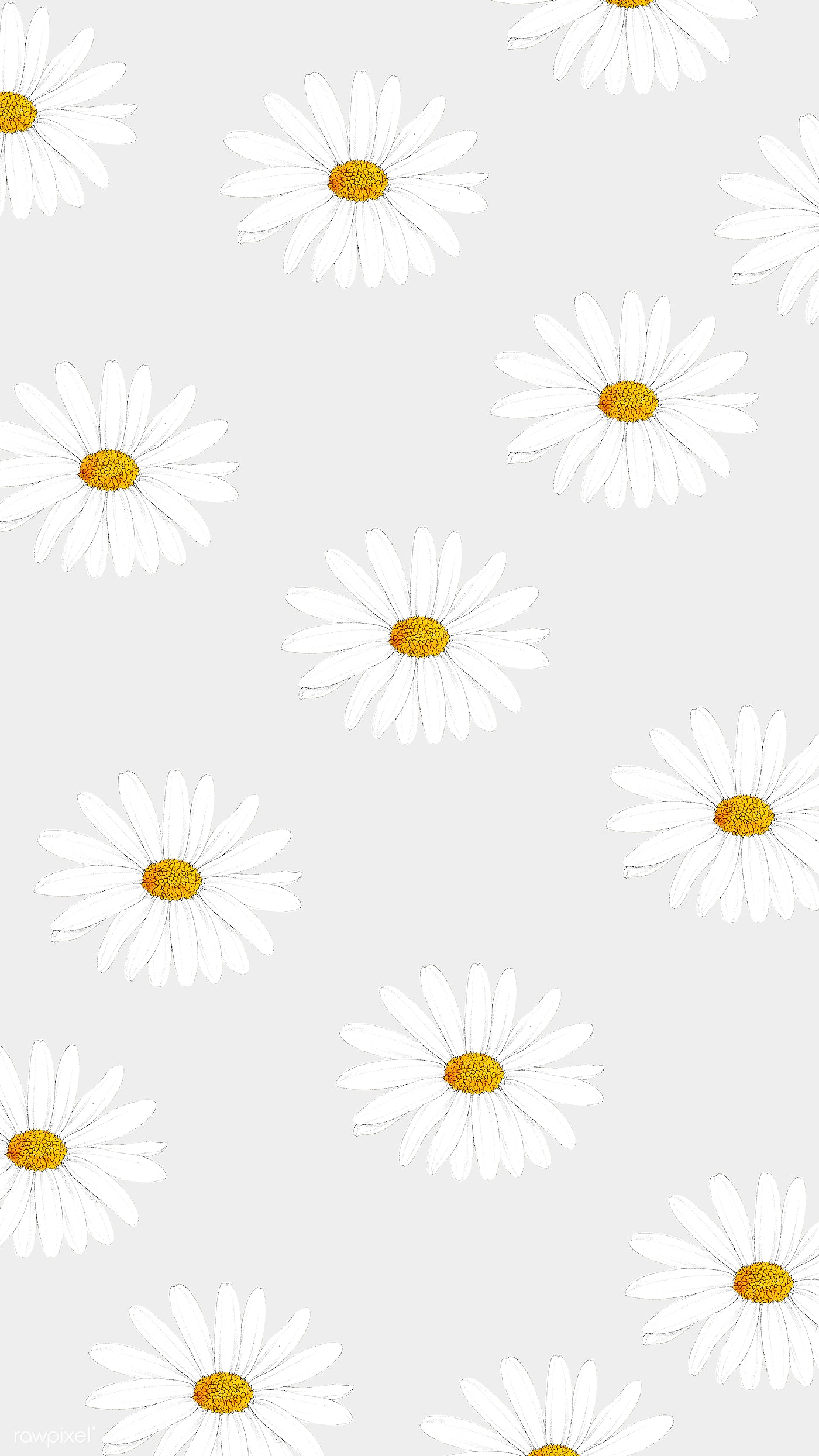 Floral Patterned Phone Background Royalty Free Illustration