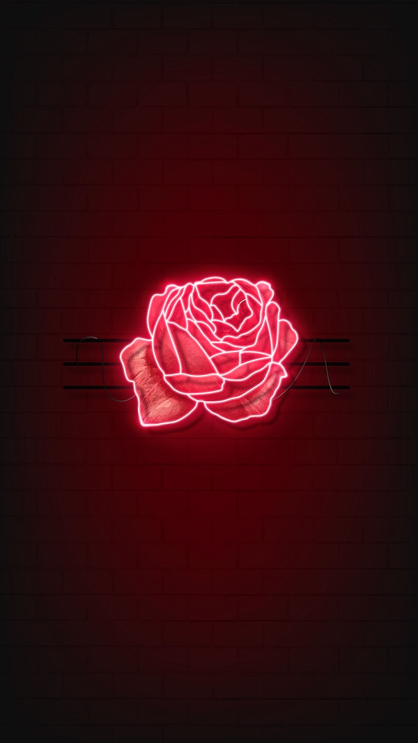 Red Rose Mobile Wallpaper Royalty Free Vector 2102952