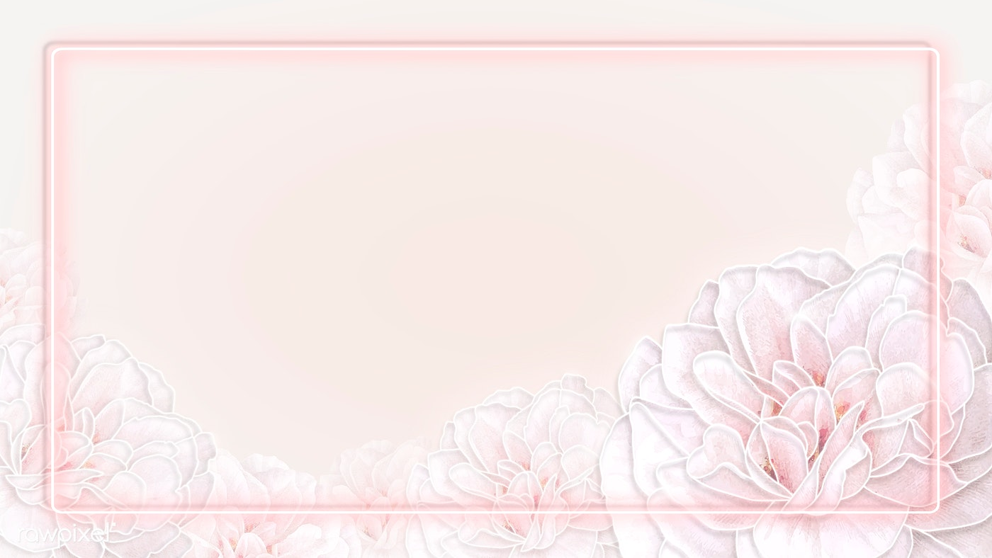 Rectangle Rose Frame Background Royalty Free Vector 2204869