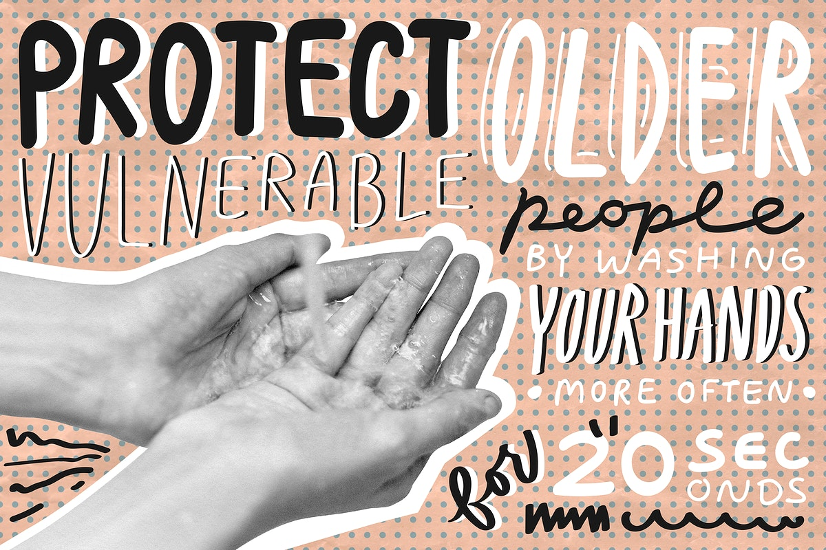 Protect vulnerable people. This image is part our collaboration with the Behavioural Sciences team at Hill+Knowlton…