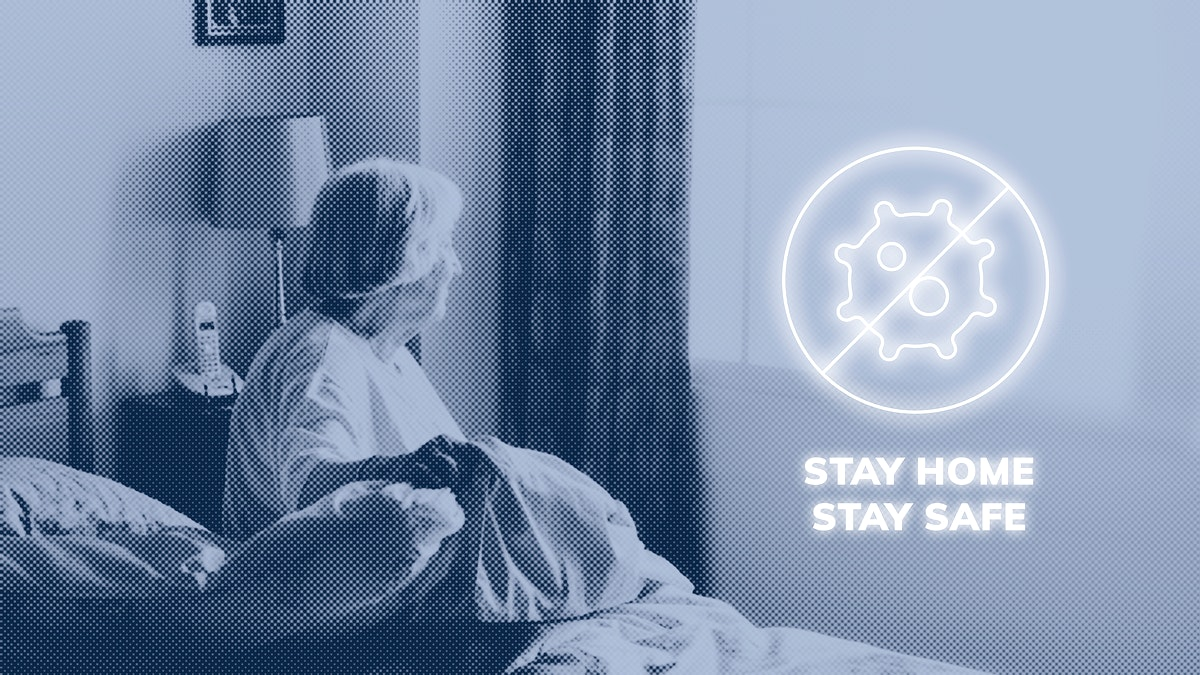 Stay home stay safe during coronavirus pandemic