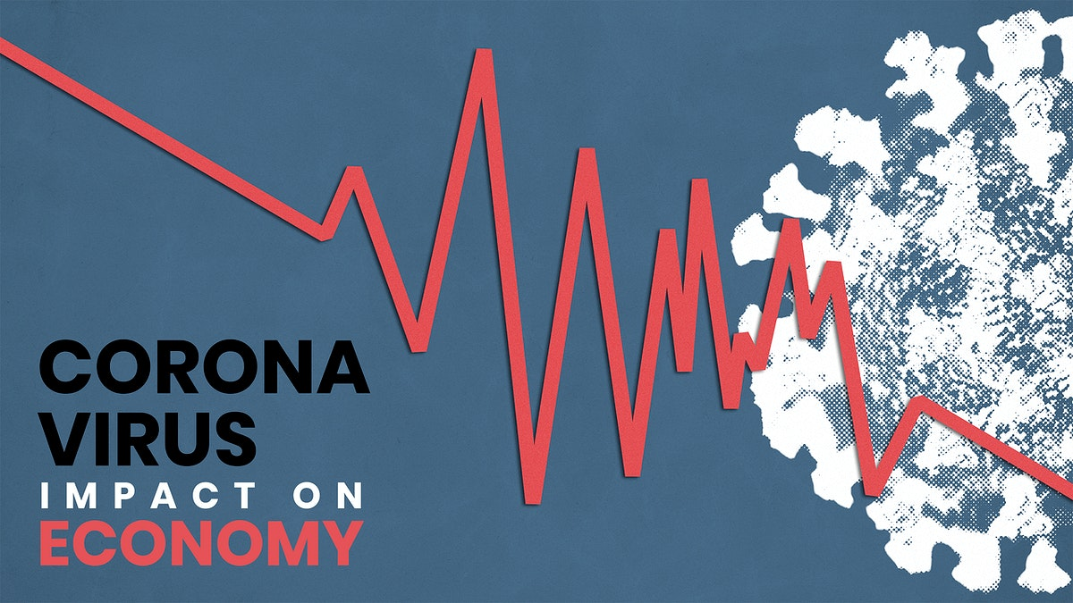 Coronavirus impact on the economy social template