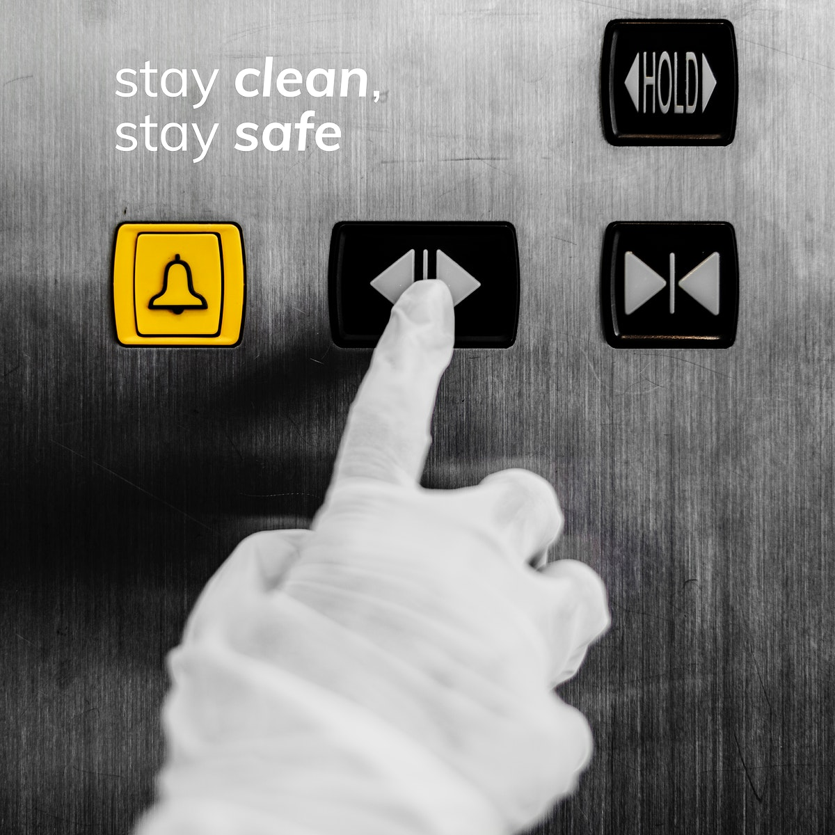 Stay clean stay safe during coronavirus pandemic social template vector