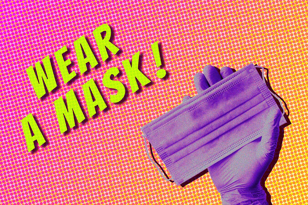 Wear a mask to protect yourself from the coronavirus outbreak