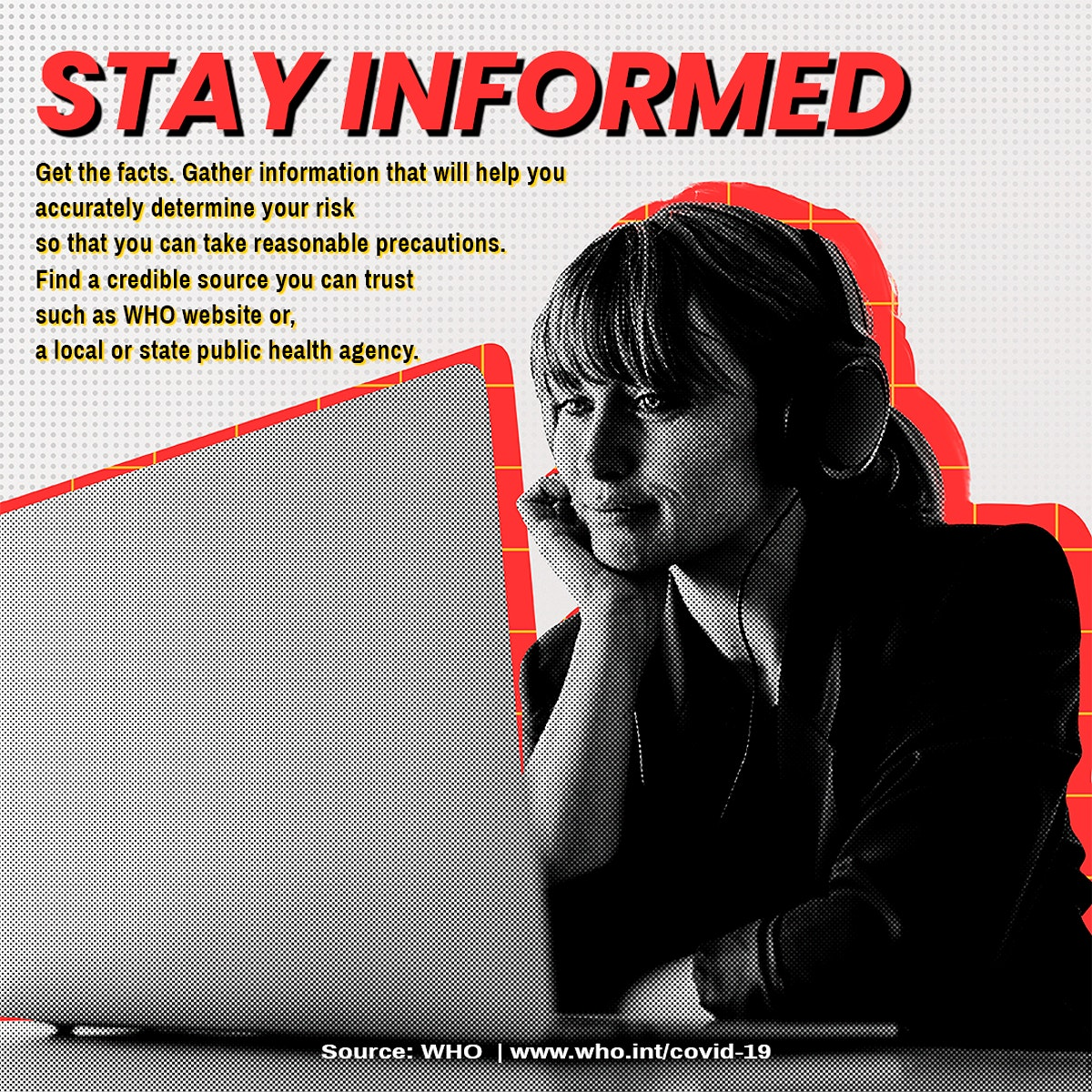 Stay informed and find a credible source you can trust template source WHO