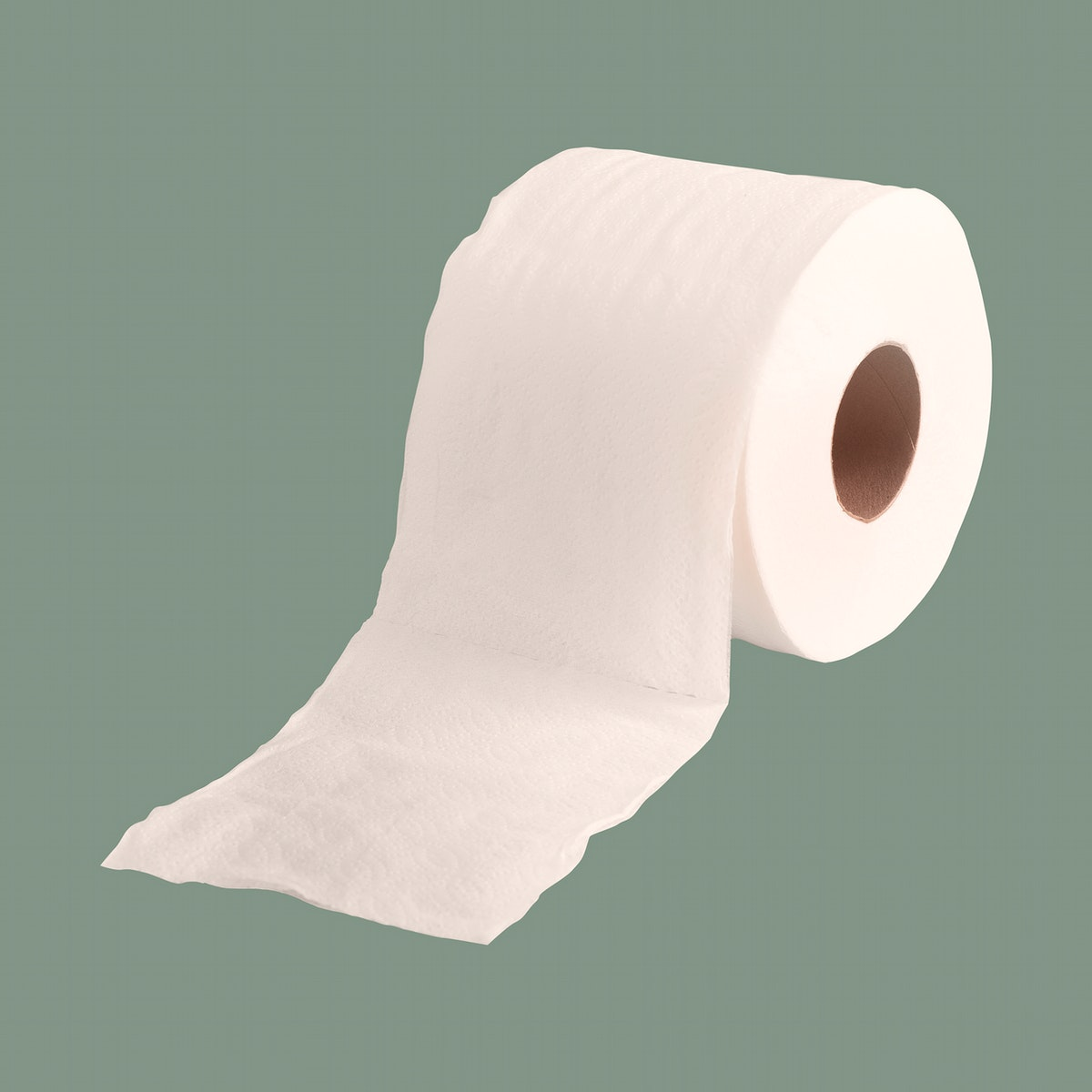 Tissue paper roll element mockup illustration