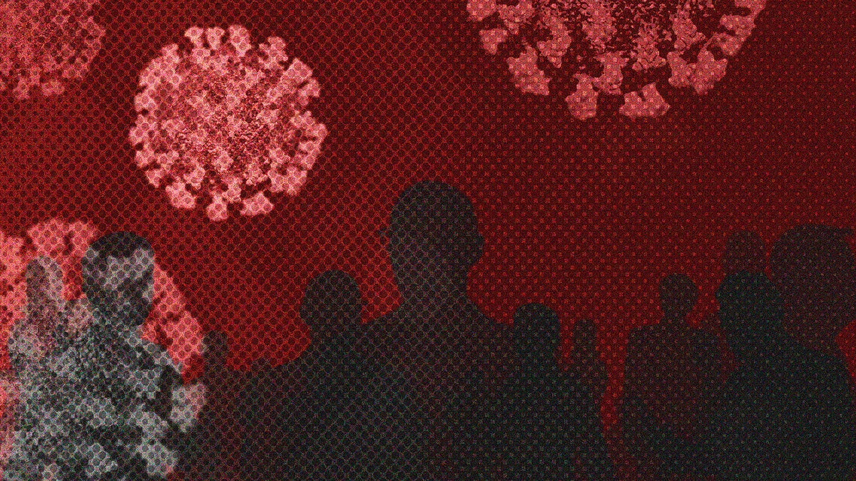 Transmission of corona virus mobile wallpaper