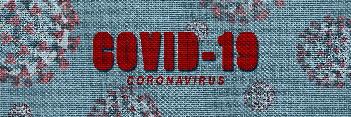 Coronavirus awareness Covid-19 template